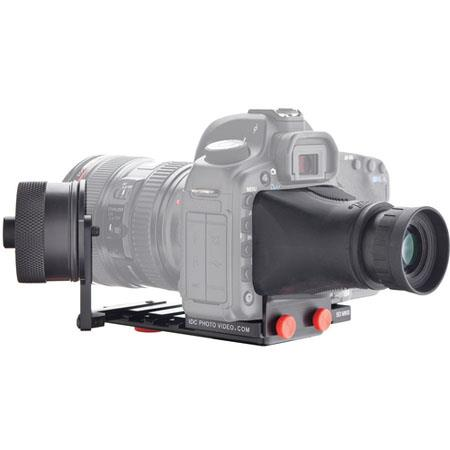IDC SYSTEM ZERO Follow Focus Standard Canon D Mark Camera Plate and Viewfinder 234 - 383