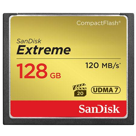 SanDisk GB Extreme Compact Flash Memory Card Transfer speed up to MBs 167 - 412