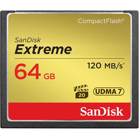 SanDisk GB Extreme Compact Flash Memory Card Transfer speed up to MBs 54 - 719
