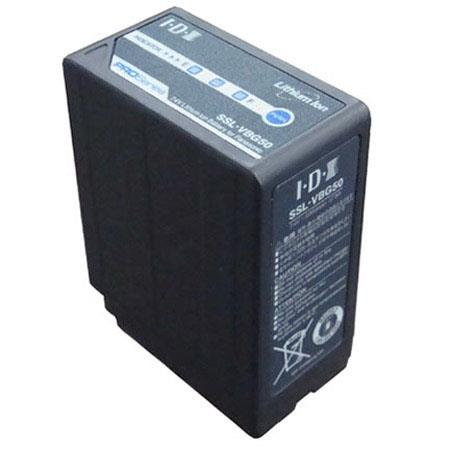 IDX V mAh NP Style Lithium Ion Battery Secured Interface For Panasonic AG HM and AG HMC Camcorders 149 - 448