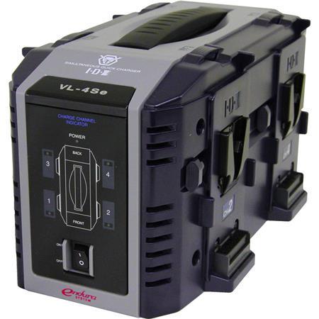IDX VL S Multi format Channel Simultaneous V Mount Li Ion Fast Charger 95 - 679
