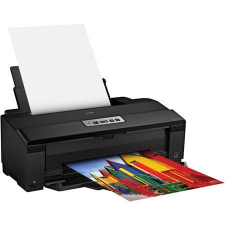 Epson Artisan Wide Format Inkjet PrinterOptimized dpi Resolution ppm ColorBlack Print Speed Wi Fi Pi 208 - 444