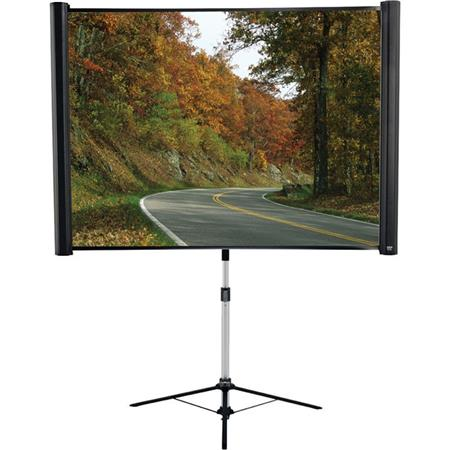 Epson ES Ultra Portable Projector Screen Any ProjectorDiagonal Screen Size Fold Out Legs Bright Scre 90 - 242