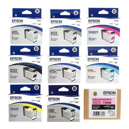Epson Complete Ink Cartridge Set Epson Stylus Photo Printer 49 - 578