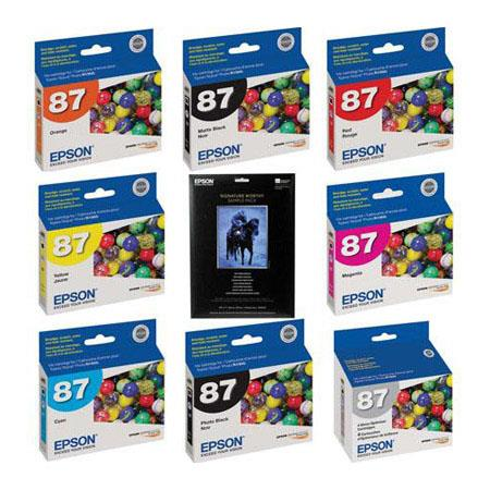 Epson Complete Ink Paper Set Epson Stylus Photo Printer 194 - 447