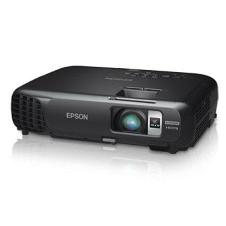 Epson PowerLite W Wireless WXGA LCD Projector Lumens Aspect Ratio E TORL W UHE Lamp 119 - 100