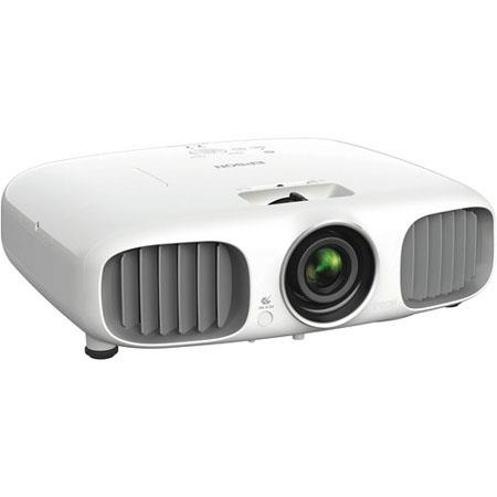 Epson PowerLite Home Cinema E D p LCD Projector Lumens W Stereo Speakers Contrast Ratio 127 - 207