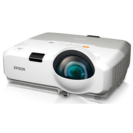 Epson PowerLite Multimedia ProjectorXGA Native Resolution Lumens Up to Contrast Ratio 66 - 634
