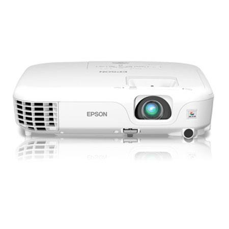 Epson PowerLite Home Cinema LCD ProjectorSVGA Resolution Lumens Brightness Contrast Ratio HDMI Port  126 - 371