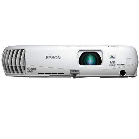 Epson PowerLite Home Cinema HD LCD Projector DDp Output lumens ColorWhite Brightness Aspect Ratio 285 - 497