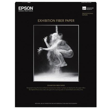 Epson Exhibition Fine Art Fiber Glossy Inkjet Paper mil gsmSheets 148 - 286