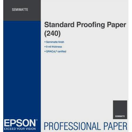 Epson Standard Semi Matte Proofing Paper mil gsmSheets 74 - 136
