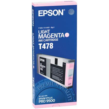 Epson Light Magenta Ink Cartridge the Stylus Pro Inkjet Printer 67 - 556