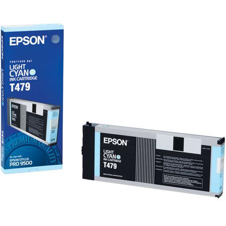 Epson Light Cyan Ink Cartridge the Stylus Pro Inkjet Printer 49 - 503