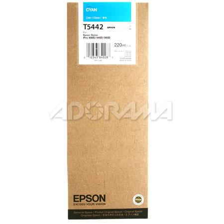 Epson Cyan UltraChrome Ink Cartridge the Stylus Pro and Inkjet Printers ml 46 - 523
