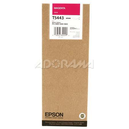Epson Magenta UltraChrome Ink Cartridge the Stylus Pro and Inkjet Printers ml 46 - 523