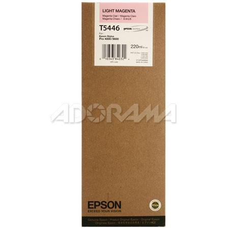 Epson Light Magenta UltraChrome Ink Cartridge the Stylus Pro and Inkjet Printers ml 46 - 480