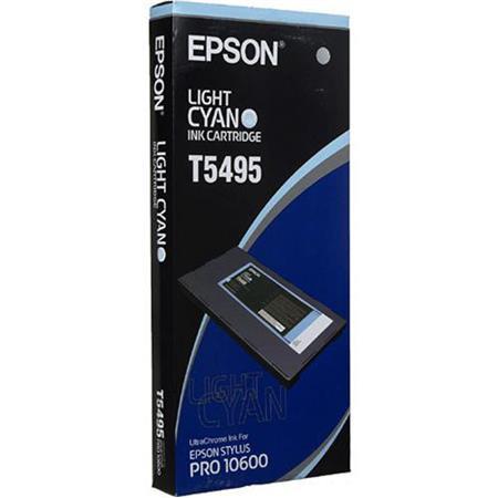 Epson Light Cyan UltraChrome Ink Cartridge the Stylus Pro Wide Format Inkjet Printer 220 - 605