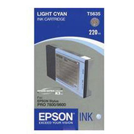 Epson Light Cyan UltraChrome K Ink Cartridge the Stylus Pro and Inkjet Printers ml 5 - 197