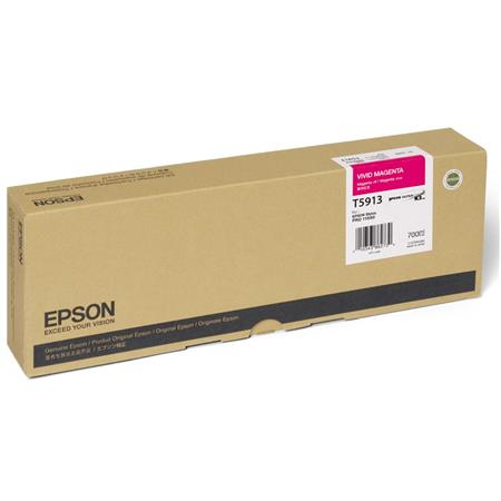 Epson UltraChrome ml K Vivid Magenta Pigment Based Ink the Stylus Pro Inkjet Printer 22 - 218