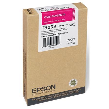 Epson UltraChrome ml K Vivid Magenta Pigment Based Ink the Stylus Pro Inkjet Printers 205 - 500