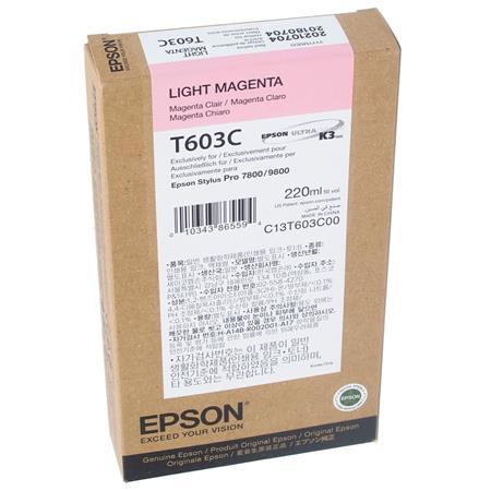 Epson UltraChrome ml K Light Magenta Pigment Based Ink the Stylus Pro Inkjet Printers 107 - 287