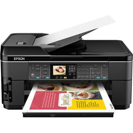 Epson WorkForce WF All One Inkjet Printer Ink Cartridges Print Copy Scan Fax 289 - 76
