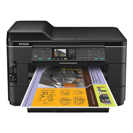 Epson WorkForce WF All One Inkjet Printer WiFi PPM PPM Color Print Copy Scan Fax 80 - 142