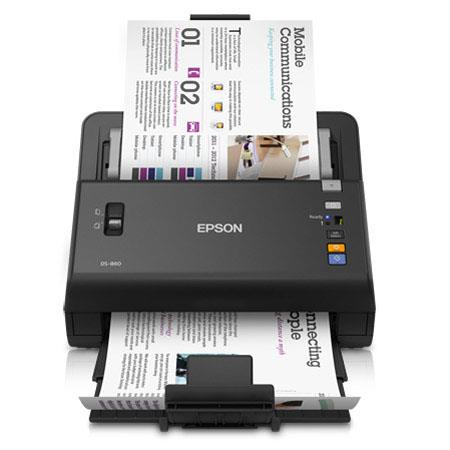 Epson WorkForce DS Wireless Color Document Scanner ppmipm at dpi dpi Optical dpi Output Sheets ADF U 101 - 485
