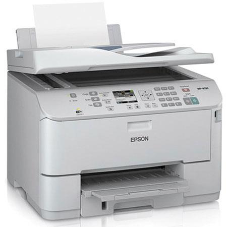Epson WorkForce Pro WP Network Multifunction Wireless Color Printer ppmppmdpi Sheet USBWi FiEthernet 90 - 57