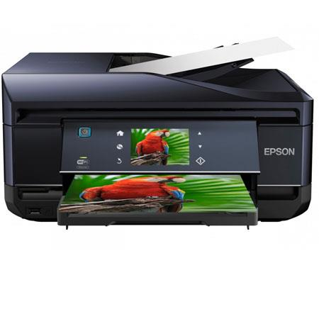 Epson Expression Photo XP Small One Color Inkjet Printer Print Copy Scan Faxdpi ppm ppm Color Ethern 101 - 410