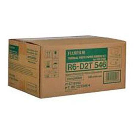 FujifilmMedia Set the ASK Dye Sublimation Digital Photo Printer Rolls Total Prints 40 - 718