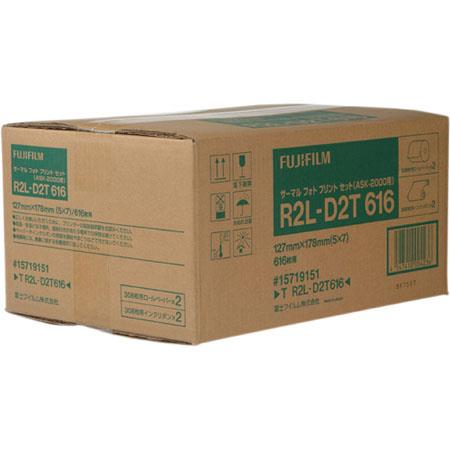 FujifilmMedia ASK Dye Sub Printer Rolls of Sheets 92 - 525