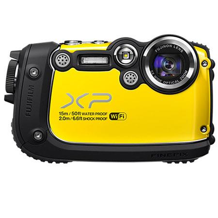 Fujifilm FinePiXP Waterproof Digital Camera MP CMOS FSI MP Sensor LCDOptical Zoom HDMI p fps  116 - 241