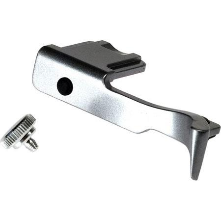 Fujifilm X Silver Accessory Kit Thumb Grip Soft Shutter Release Quick Release Plate 97 - 610