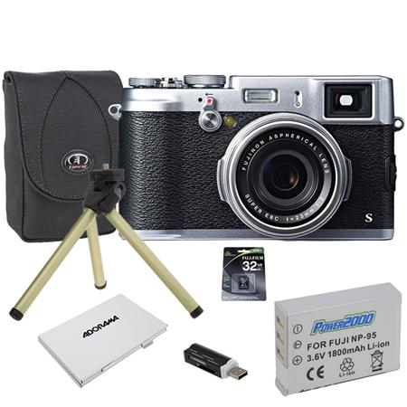 Fujifilm XS DigitalSilver Camera Megapixel Bundle Multi Card Reader GB Class Memory Card Case Spare  42 - 673