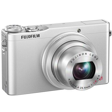Fujifilm XQ Digital Camera MPOptical Zoom LCD Display HDMIUSB Silver 106 - 760