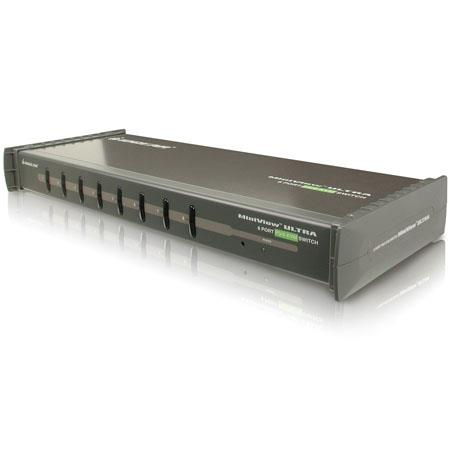 Iogear Port PS MiniView Ultra KVM Switch U Rackmount without Cables 29 - 433