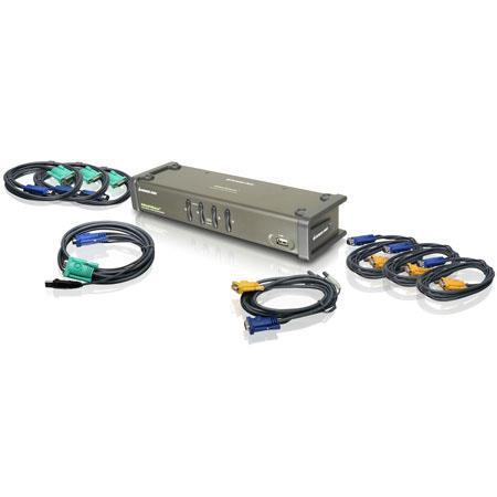 Iogear GCS Port Dual View KVM SwitchResolution USB VGA Interface 48 - 392