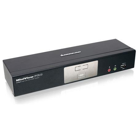Iogear GCSG Port Dual Link DVI KVMP Pro Switch Audio D Graphics Support 28 - 405