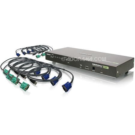 Iogear GCSKITU Port USB PS Combo VGA KVM Switch USB KVM Cables 37 - 199