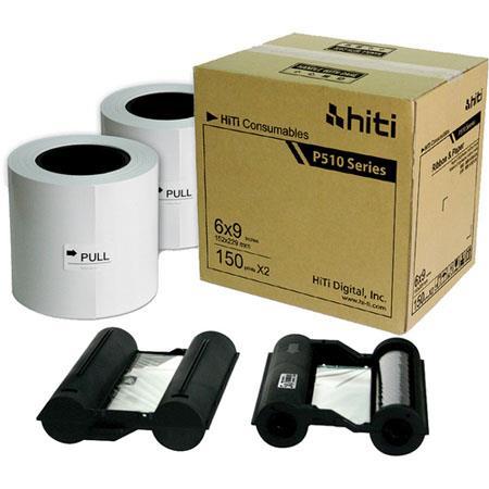 HiTi Digital Inc HiTiRibbon Paper Case Total ofPrints 113 - 471