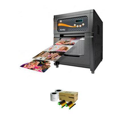 HiTi PL Photo Printerdpi Resolution USB Hi Speed Dye Diffusion Thermal Transfer Bundle HiTiRolls of  145 - 382