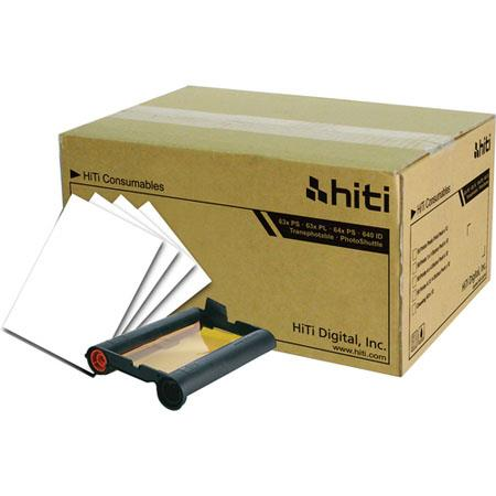 HiTi Digital Inc Photopaper PackPrints Carton Sheets Ribbon packs of  61 - 519