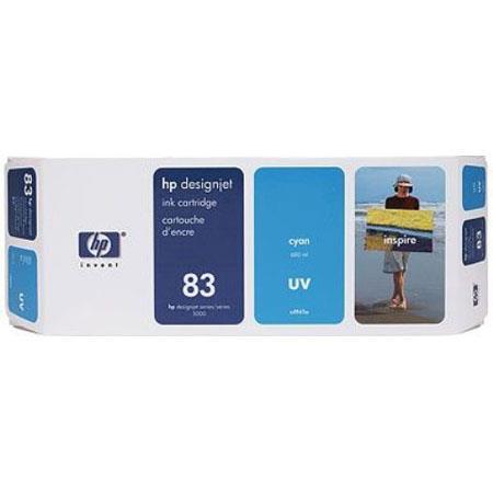 HP CA ml Cyan UV Ink Cartridge 368 - 3