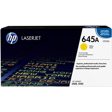 HP CA Color LaserJet Print Cartridge Yields up to Pages 75 - 343