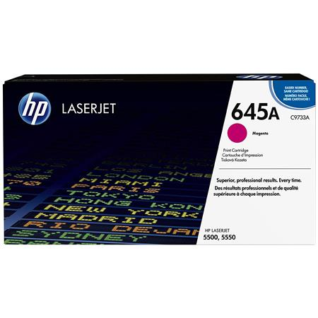 HP CA Color LaserJet Magenta Print Cartridge Yields up to Pages 75 - 343