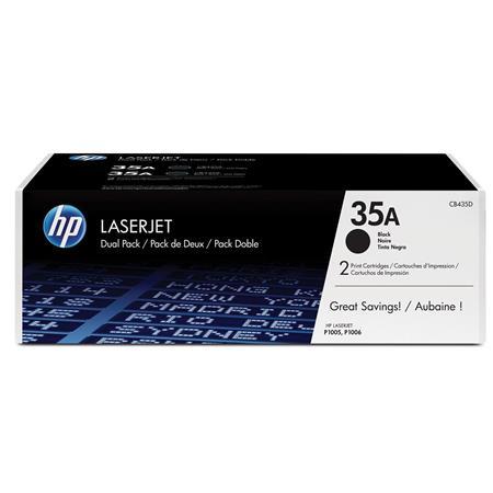 HP CBD A Dual Pack Toner Cartridges LaserJet PP Printers 258 - 339
