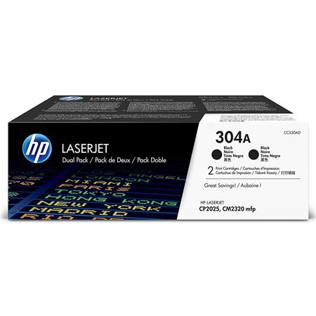 HP CCAD Dual Pack of Two CCA Print Cartridges the Color LaserJet CP HP Color LaserJet CM MFP Printer 91 - 700