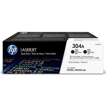 HP CCAD Dual Pack of Two CCA Print Cartridges the Color LaserJet CP HP Color LaserJet CM MFP Printer 232 - 57